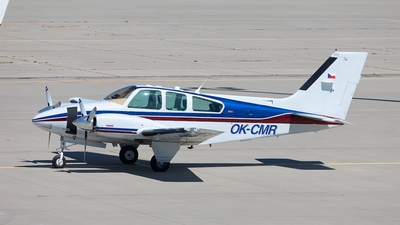A picture of OKCMR - Beech 95B55 Baron - [TC1825] - © Oliver Hendrich