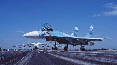 388 - Sukhoi Su-27 Flanker - Soviet Union - Air Force