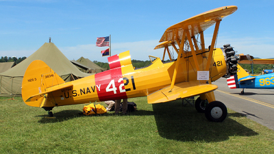 N57947 - Boeing A75N1 Stearman - Private