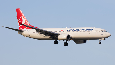 A picture of TCJVE - Boeing 7378F2 - Turkish Airlines - © Emil Zegnalek