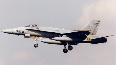 C.15-22 - McDonnell Douglas EF-18A+ Hornet - Spain - Air Force
