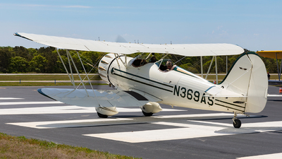 N369AS - Waco YMF-5 - Private