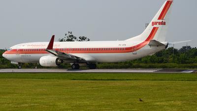 PK-GFN - Boeing 737-86N - Garuda Indonesia
