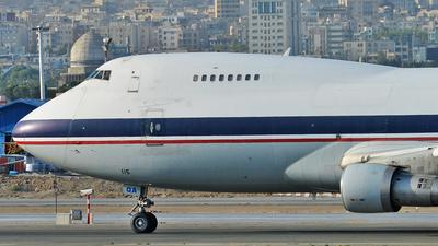 EP-CQA - Boeing 747-2J9F - Caspian Airlines