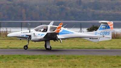 A picture of GCOBS - Diamond DA42MNG Twin Star - Cobham Aviation Services - © Suzi Berwick