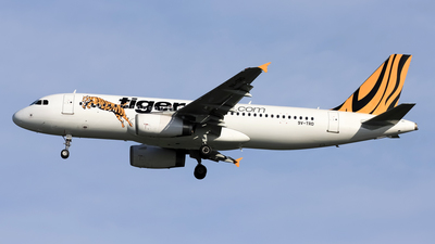 9V-TRD - Airbus A320-232 - Tiger Airways