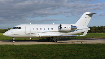 9H-ALD - Bombardier CL-600-2B16 Challenger 605 - Private