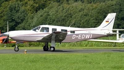 D-EDWI - Piper PA-32R-301T Saratoga II TC - Private