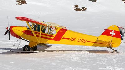 HB-OQB - Piper PA-18-180 Super Cub - Segelfluggruppe Thun