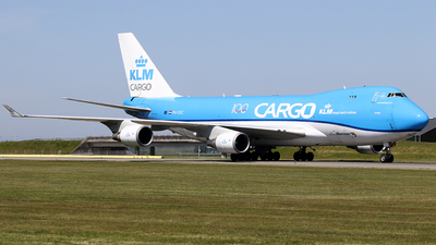 A picture of PHCKC - Boeing 747406F(ER) - KLM - © Jeroen Stroes