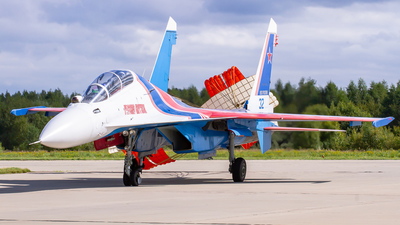 32 - Sukhoi Su-30SM - Russia - Air Force
