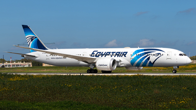 A picture of SUGES - Boeing 7879 Dreamliner - EgyptAir - © Jonathan Mifsud