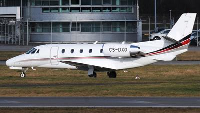 A picture of CSDXG - Cessna 560XLS Citation Excel - Executive Jet Management - © Claus Seifert