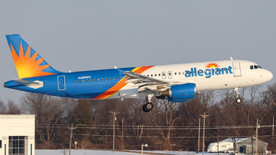 A picture of N286NV - Airbus A320214 - Allegiant Air - © Kass Betas