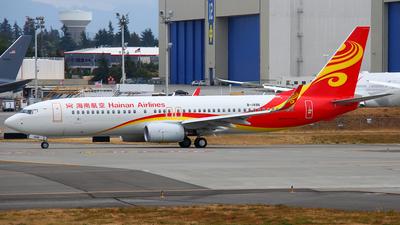 B-1496 - Boeing 737-86N - Hainan Airlines