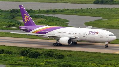 HS-TJC - Boeing 777-2D7 - Thai Airways International