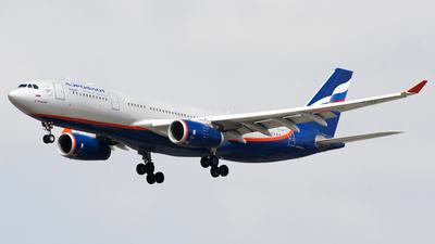 VQ-BBE - Airbus A330-243 - Aeroflot
