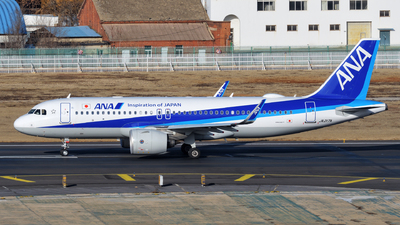 JA217A - Airbus A320-271N - All Nippon Airways (ANA)
