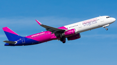 HA-LXL - Airbus A321-231 - Wizz Air