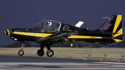 XX638 - Scottish Aviation Bulldog T.1 - United Kingdom - Royal Air Force (RAF)