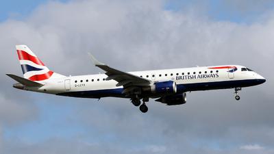 G-LCYX - Embraer 190-100SR - BA CityFlyer