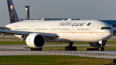 A picture of HZAK34 - Boeing 7773FG(ER) - Saudia - © Kevin Cargo