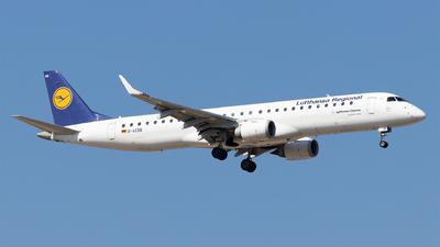 A picture of DAEBB - Embraer E195LR - Lufthansa - © Moritz Babl