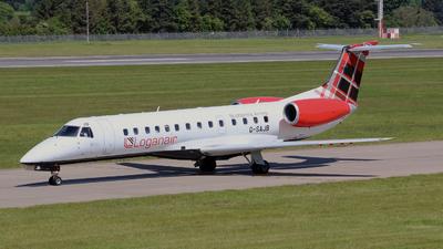 G-SAJB - Embraer ERJ-135LR - Loganair