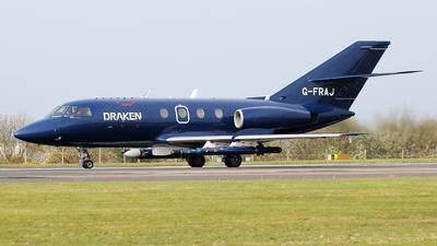 G-FRAJ - Dassault Falcon 20E - Draken Europe