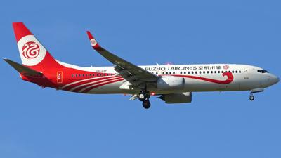 PR-GXY - Boeing 737-8EH - Fuzhou Airlines