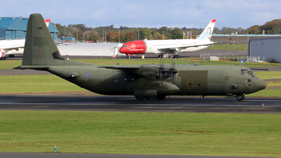 ZH867 - Lockheed Martin Hercules C.4 - United Kingdom - Royal Air Force (RAF)