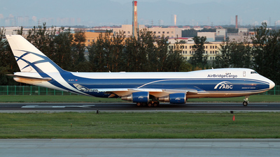 VQ-BFX - Boeing 747-428ERF - Air Bridge Cargo