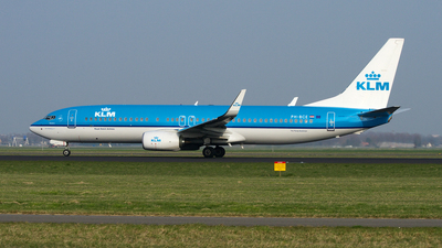 PH-BCE - Boeing 737-8K2 - KLM Royal Dutch Airlines