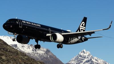 ZK-NNA - Airbus A321-271NX - Air New Zealand