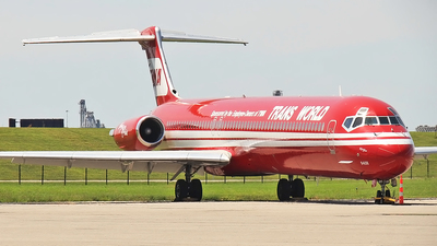 N948TW - McDonnell Douglas MD-83 - Trans World Airlines (TWA)