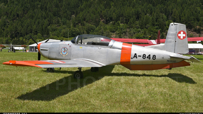 N848AD - Pilatus P-3-05 - Private