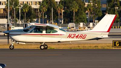 A picture of N34RG - Cessna 177RG Cardinal RG - [177RG0729] - © Alex Crail