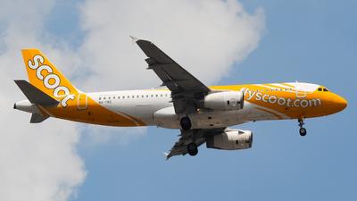 9V-TRE - Airbus A320-232 - Scoot