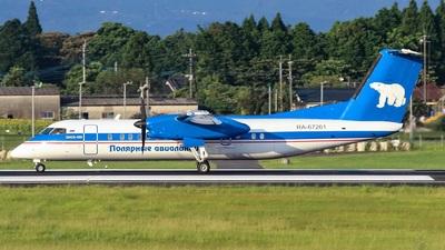 A picture of RA67261 - De Havilland Canada Dash 8300 - Polar Airlines - © Koki.Ishida