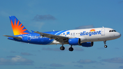 N218NV - Airbus A320-214 - Allegiant Air