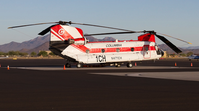 A picture of N471CH - Boeing CH47D - [900198] - © Jeremy D. Dando