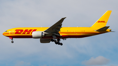 A picture of DAALO - Boeing 777F - DHL - © Antek Dec