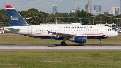 N752US - Airbus A319-112 - US Airways