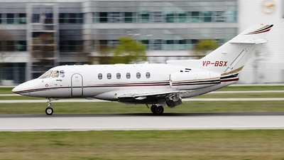 VP-BSX - Hawker Beechcraft 750 - Meridian Air