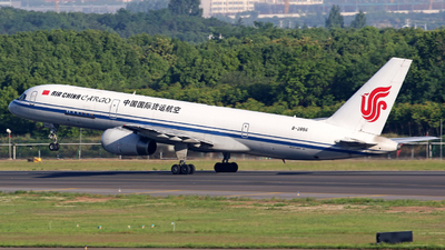 A picture of B2856 - Boeing 7572Z0(PCF) - Air China Cargo - © lihutao