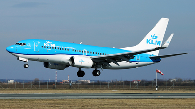 A picture of PHBGF - Boeing 7377K2 - KLM - © Marin Ghe.