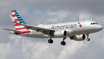 A picture of N9018E - Airbus A319115 - American Airlines - © Zavier Cordova