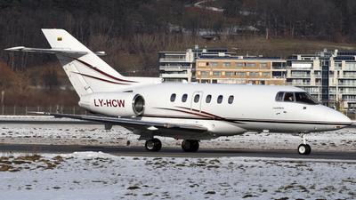 LY-HCW - Raytheon Hawker 800XP - Charter Jets