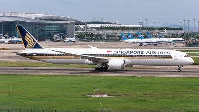 A picture of 9VSCC - Boeing 78710 Dreamliner - Singapore Airlines - © Shiori Daredemo Daisuki