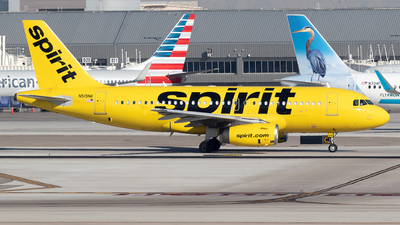 A picture of N519NK - Airbus A319132 - Spirit Airlines - © Felipe García